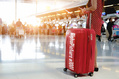 1001_ - Red Suitcase