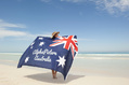1012_ - Woman with Australian Flag