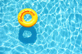 1016_ - Yellow Swim Ring