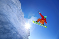 1043_ - Snowboarder in Backlight