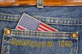 1046_ - US Flag on Jeans