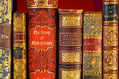 257_ - Spines Of Antique Books