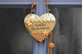 751_ - Heart Sign on Door