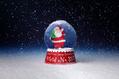 835_ - Xmas Snow Globe