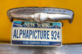 924_ - New York License Plate