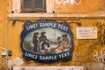 244_ - Italian Cafe Sign
