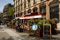 514_ - Paris Sidewalk Café