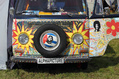 797_ - Painted VW Camper
