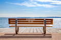826_ - Bench at Beach