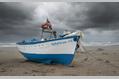 895_ - Boat at Beach